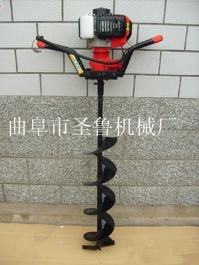 大棚打坑机 小型地钻机、  种树打坑机报价