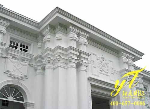 酒店外墙GRC构件