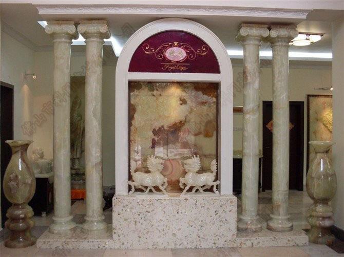 高品质欧式仿玉石罗马柱,仿玉石背景墙,仿大理石造型罗马柱,欧式仿