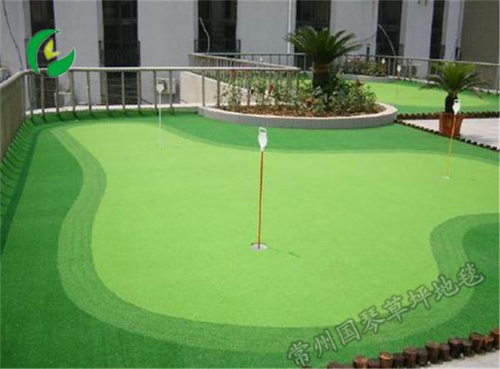 高尔夫球场草坪羽毛球场隔热草坪地毯20年专业运动草坪地毯