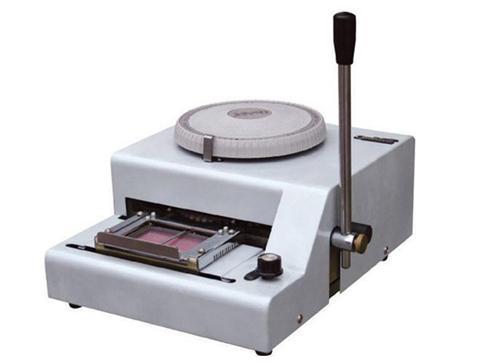 卡片凸字机PVC卡钢印打码机会员卡钢印打码