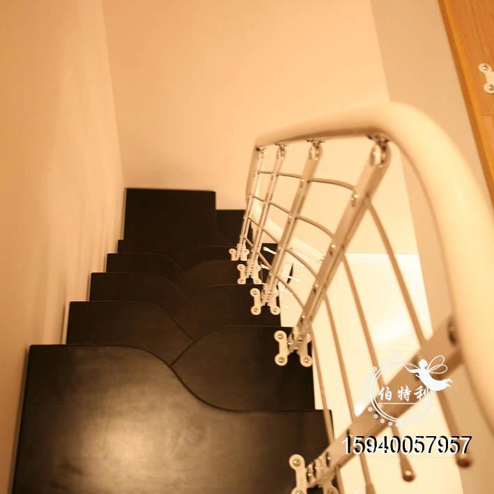 【优雅钢木楼梯】钢木结合楼梯特点,结合了木质楼梯和金属楼梯的