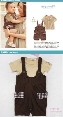 2014新款童装夏装休闲亲子套装厂家直销现货批发