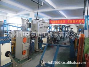 常州汉东铁氟龙氟塑料高温电线电缆挤出机押出机生产线