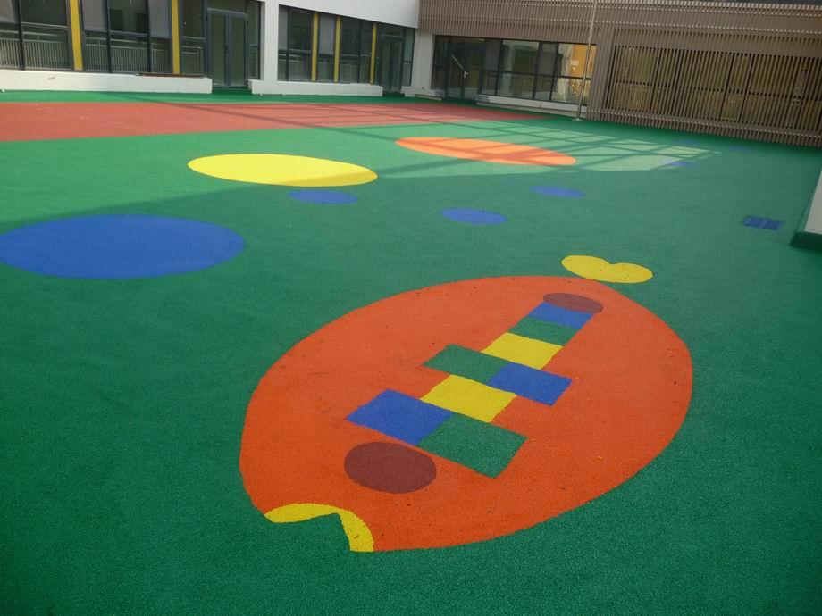幼儿园塑胶地面-青岛幼儿园塑胶-室外塑胶地面铺装