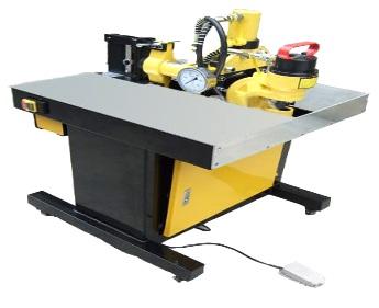组合式铜排加工机-携带式铜排折弯机、简易液压铜排机