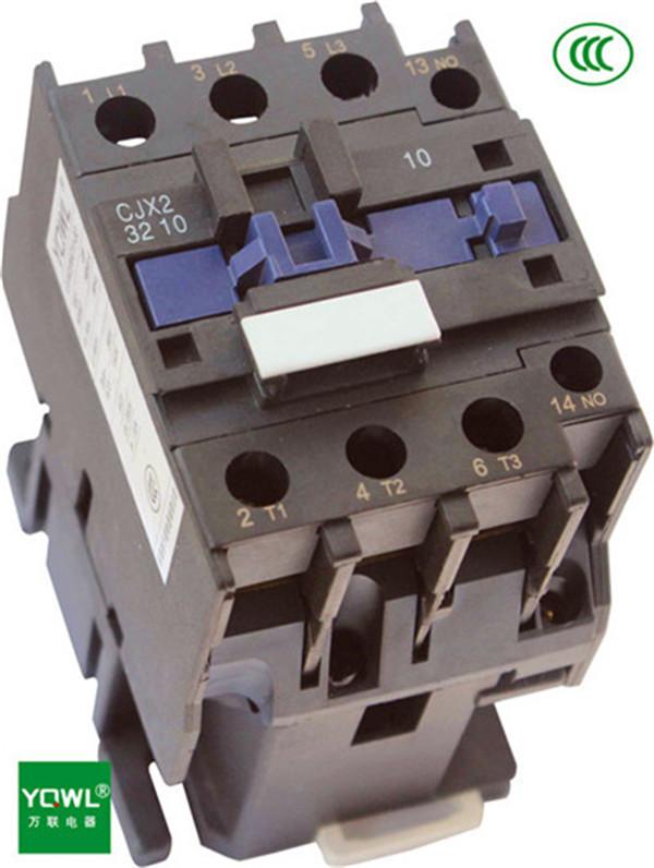 控制交流电动机,接触器还可加装积木式辅助触头组,空气延时头,机械