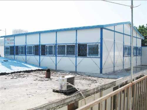 沈阳钢结构彩钢活动厂房