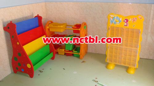 书架口杯架毛巾架幼儿园设施