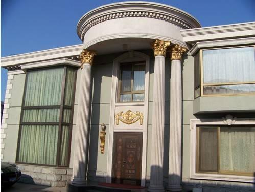 办公大楼欧式装饰采用外墙GRC构件