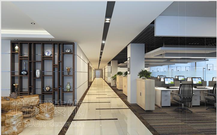 装修、武汉特色办公室设计装修、武汉办公楼设计装修。办公室装修之作业室天花 在作业室的描绘中通常寻求一种亮堂感和次序感,为此意图,作业室天花描绘 有如下几点需求: (1) 在天花中布光需求照度高,大都 状况运用日光灯,部分合作运用简灯。在描绘中往往运用散点式,光带式和光棚式来安置灯火; (2) 天花外型不宜杂乱,除司理室、会议室和接待室之外,大都状况选用平吊; (3) 天花中思考好通风与恒温; (4) 描绘天花时思考好便于修理; (5) 作业室天花资料有多种,大都选用轻钢龙骨
