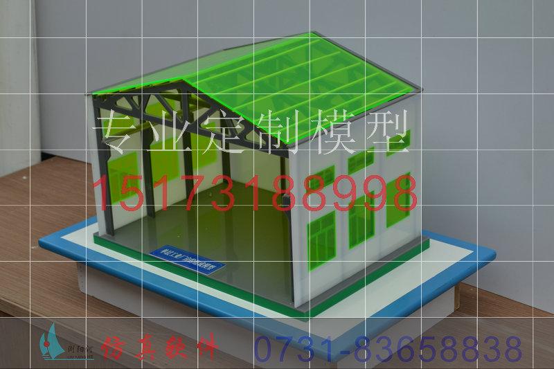 学建筑结构模型各种悬索结构形成工业建筑力学模型