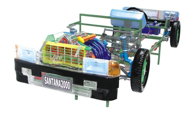 桑塔纳2000型轿车教学模型-湖北教学模型价格 湖北教学模型哪儿有卖 图片
