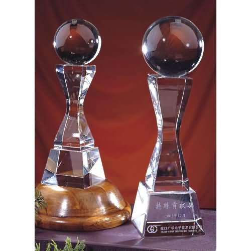 西安水晶工艺品批发水晶奖杯西安水晶礼品定制西安水晶批发