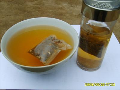 牛蒡袋泡茶的作用