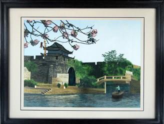苏州风景刺绣供应商图片