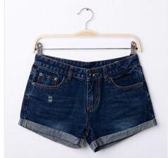 冬季新款女装、005韩版折叠短裤