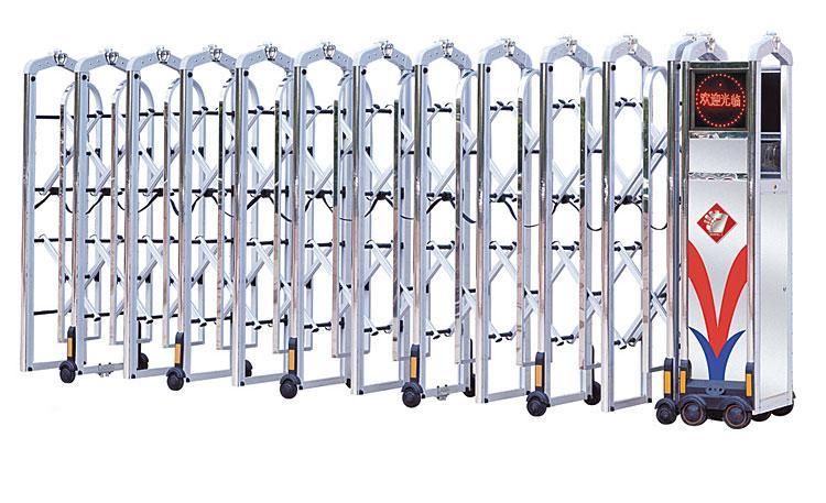求购不锈钢伸缩门,电动伸缩门厂家