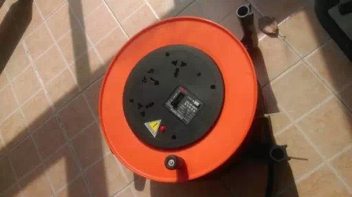 工业防水插座电缆盘直销直径320mm380V32A5线插座4只