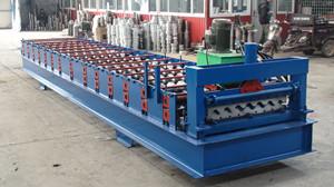 华宇楼承板机采用加粗轴压板更漂亮