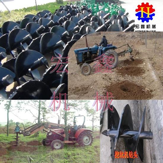 各种钻头挖坑机报价四轮车带动挖窝机地钻挖坑机厂家