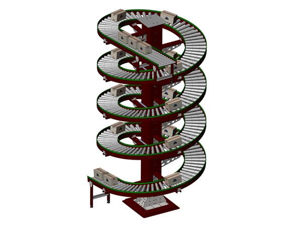 螺旋垂直输送机