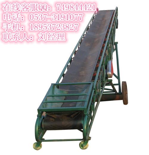 大倾角皮带输送机、输送机配件和专业的输送机、不锈钢固定式输送机A1
