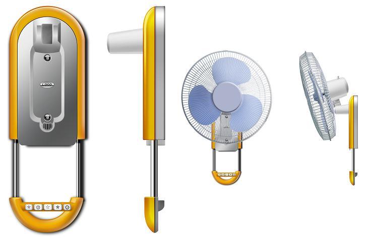 顺德电风扇外观设计,顺德电风扇工业设计