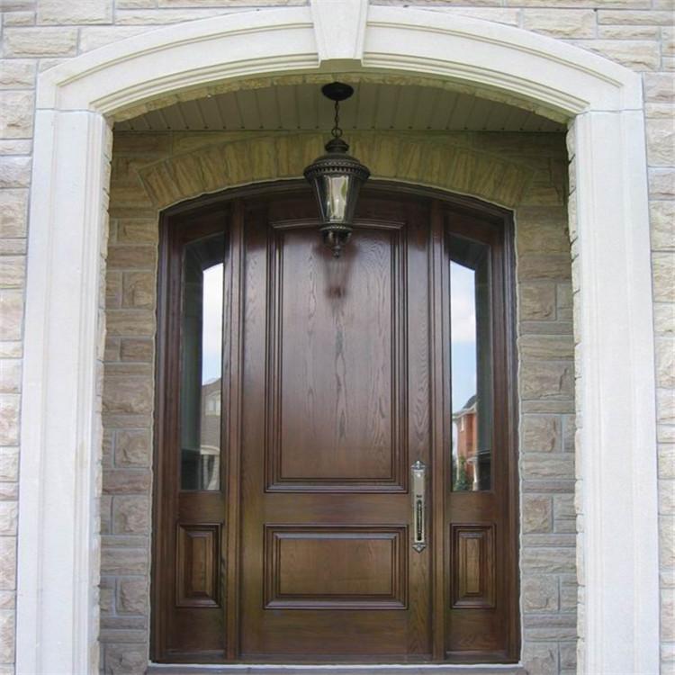 经典欧式原木进户门实木别墅门客厅大门