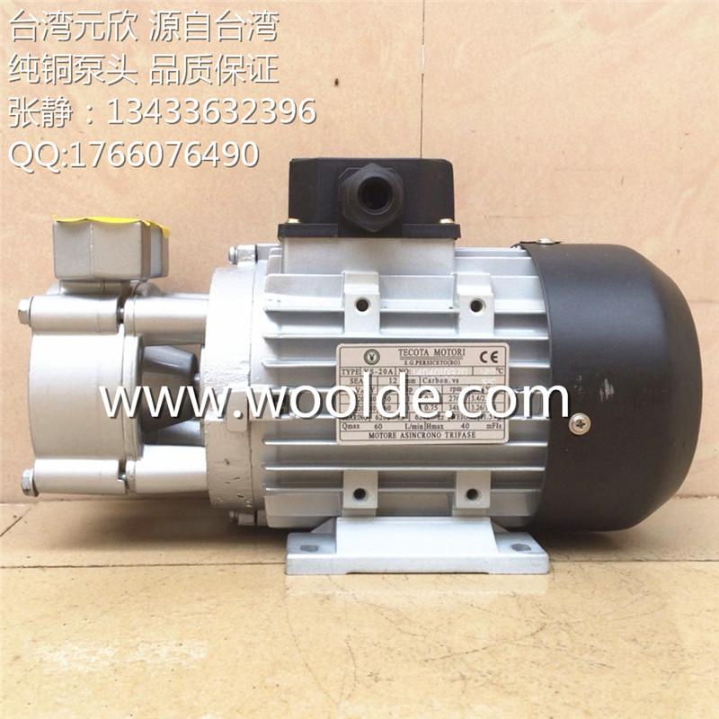 YS-30A 导热油泵 台湾元欣水泵 耐高温热水泵 模温机泵浦