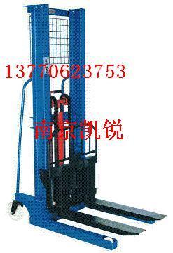 大量销售手推液压堆高车、磁性材料卡、快来南京凯锐抢购-13382761736