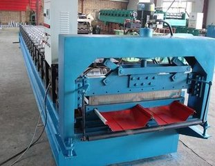 甘肃压瓦机C型钢机复合机生产线琉璃瓦设备角驰压瓦机扣扳机折弯机剪板机