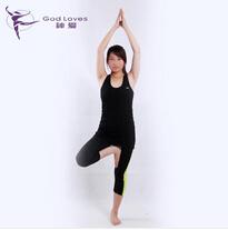 室内健身服瑜伽套装加工定制