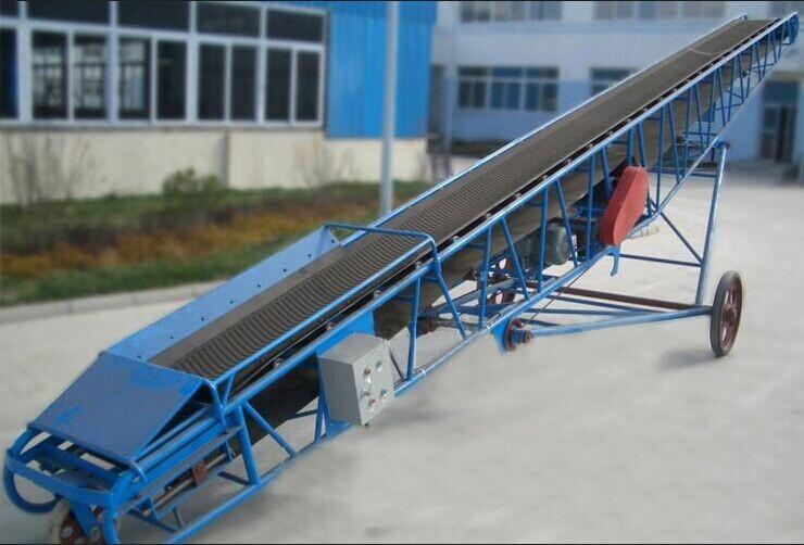 大量供应移动式皮带输送机输送设备翻转皮带机、质优价廉、01