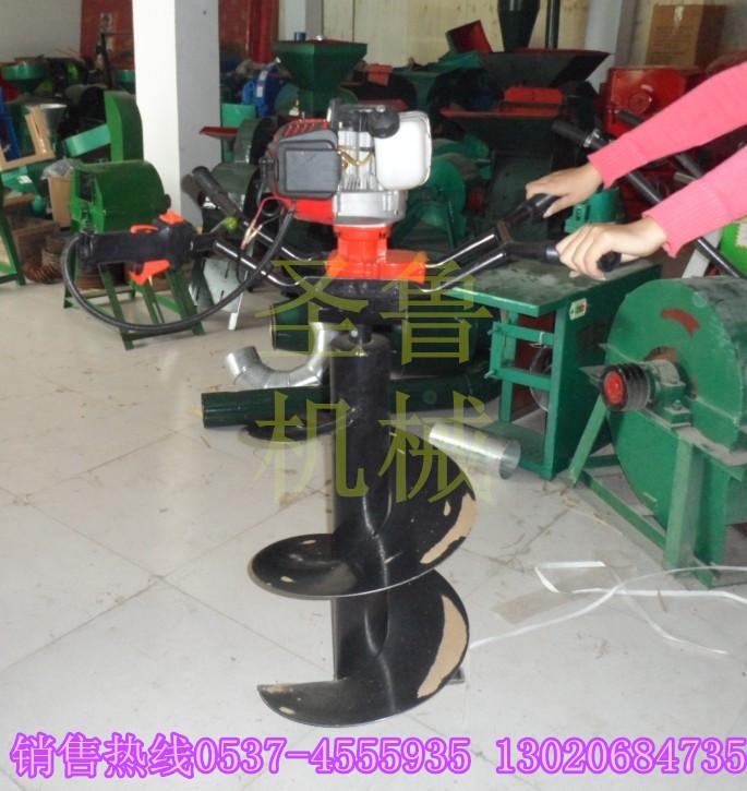 果树种植挖坑机 操作简单挖坑机 大棚立柱挖坑机 高效节能挖坑机 硬质土地挖坑机