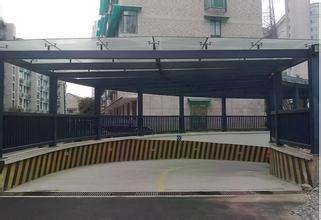 合肥 地下车库入口玻璃雨棚雨棚厂家 合肥停车库出口玻璃雨篷的施工