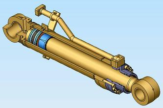 油缸的结构运作图片