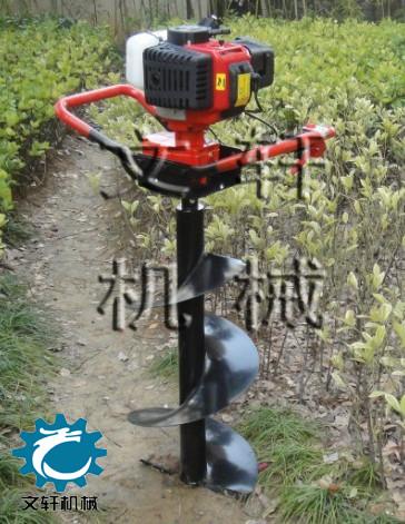 挖树坑机械柴油机树坑机直销各种果树施肥钻眼机
