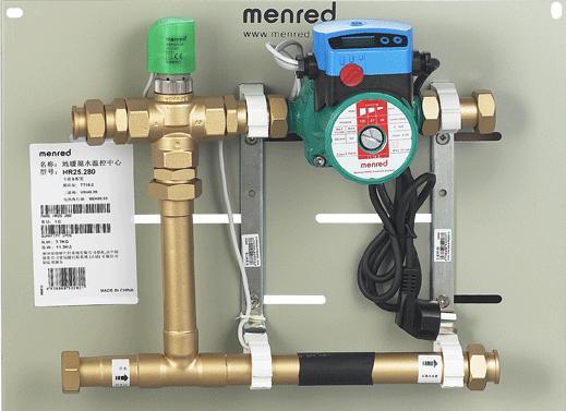 曼瑞德地暖混水温控中心图片