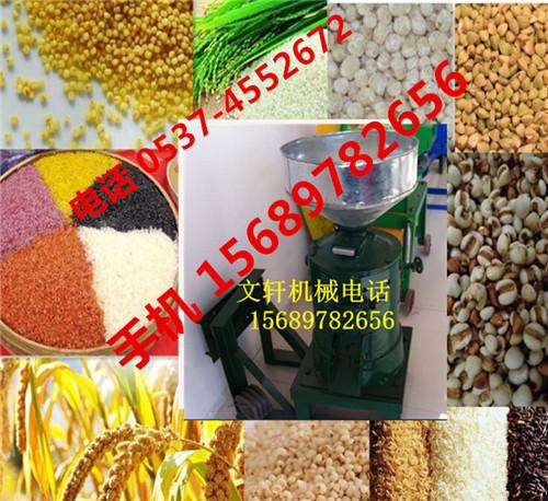 立式碾米机热销脱皮碾米机水稻脱皮机谷子碾米机高粱