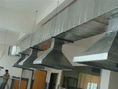 昌平厨房餐饮排烟管道加工风机维修车间厂房通风管道制作