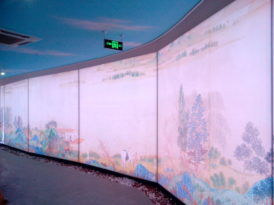 南昌吉安九江新余抚州赣州软膜天花吊顶广告灯箱膜uv写真膜3d立体膜透