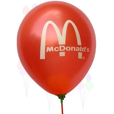 异形气球印字  心形气球批发订做  广告气球厂家