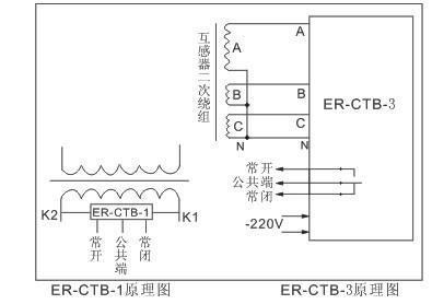 互感器二次保护电机的电路图
