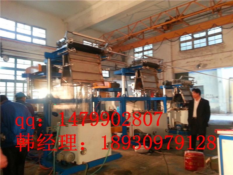 上海PVC热收缩、上旋转吹膜机、饮料标签膜吹膜机、高速PVC吹膜机