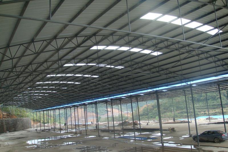 昆明钢结构网架大棚雨棚厂房安装_彩钢瓦_云商网