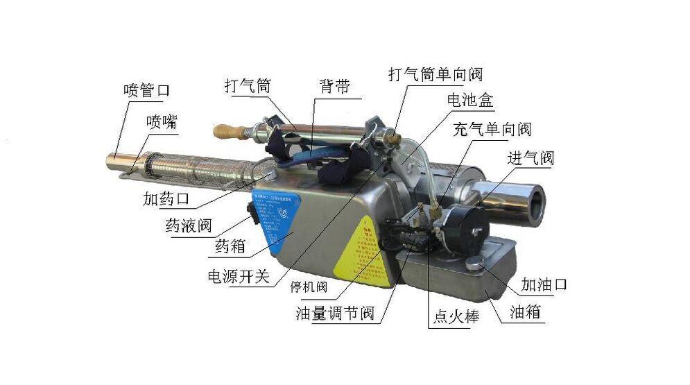 避免药液倒流缩短发动机的使用寿命及水蒸汽进入