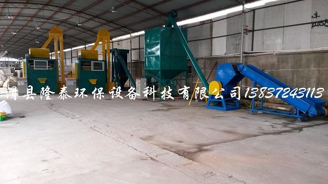 电路板回收设备是将报废电路板拆解分解分离成金属和非