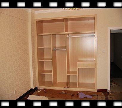 壁柜欧式柜门效果图大全