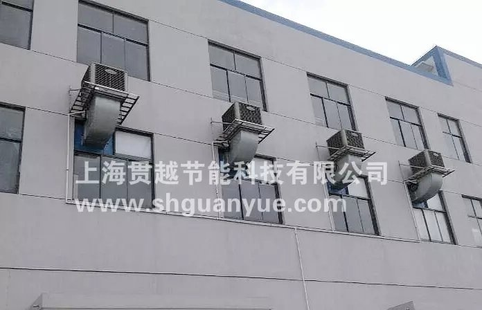 上海车间通风降温 排烟除尘 专业车间净化排烟工程 实拍